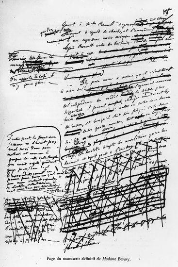 Мадам Бовари рукопись черновик Гюстава Флобера | Вдохновить на роман