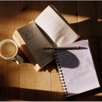 Книги рукописи кофе | Вдохновить на роман