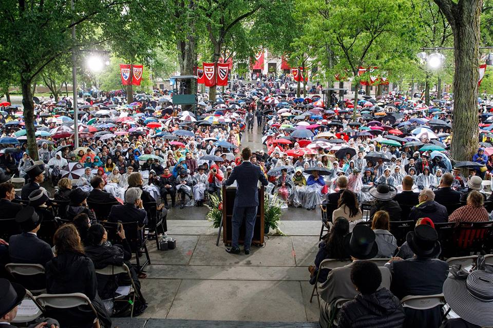 Ораторское искусство: речь Марка Цукерберга в Гарварде | Вдохновить на роман