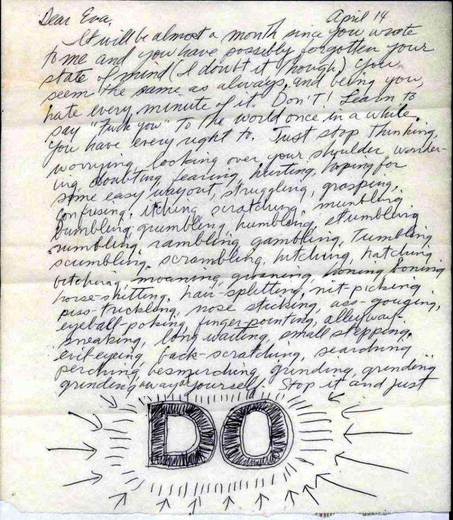 Мотивация к творческой деятельности Сол Левитт письмо | Вдохновить на роман